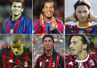 12 jugadores han compartido Barcelona y Milán