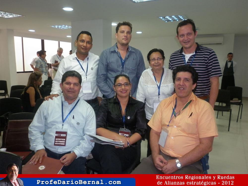 La universidad Francisco de Paula Santander, participa en los Encuentros Regionales y Ruedas de Alianzas Estratégicas en Bucaramanga