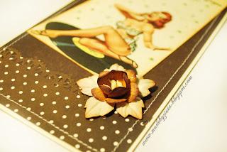 scrapbooking męska kartka urodziny card making