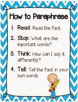 """paraphrasing process of restating an author s The act or process of restating or rewording show more verb (used with object), par  hrased, par  hras ng to render the meaning of in a paraphrase: to paraphrase a technical paper for lay readers  paraphrasing the poet, """"none knew him but to love him,."""