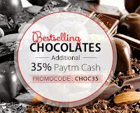 Buy Best Selling Chocolates at extra 40% cashback at Paytm : BuyToEran