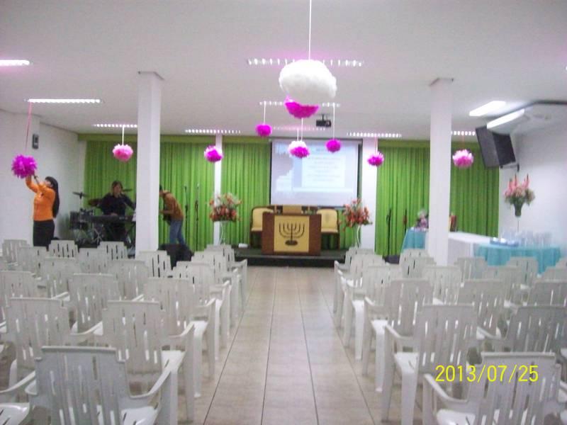 Decore sua loja e seu estabelecimento aqui Tudo para suas festas e decorações! Decoraç u00e3o da  -> Decoração Simples Para Festividade De Igreja Evangelica