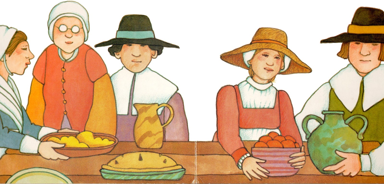 Googoogallery my first thanksgiving by tomie depaola for What did they eat at the first thanksgiving