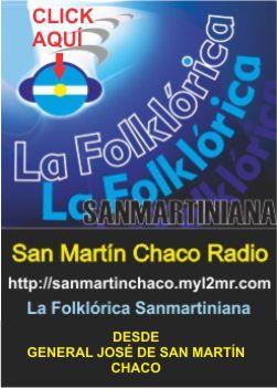 La folclórica Sanmartiniana