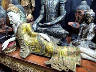 Buddha, Wesco Fabrics, Bangkok