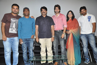 Sushanth's Adda Telugu Movie Press Meet Stills