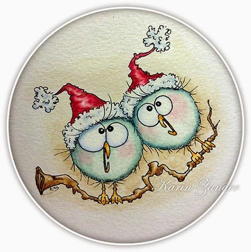 Christmas free digi stamp