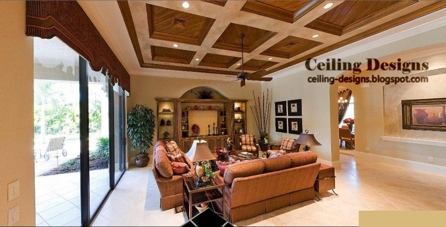 Wood ceiling panels catalog - Wood ceiling living rooms ...