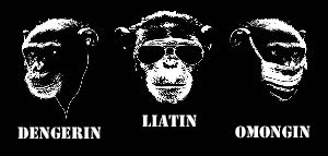 tiga monyet bersaudara
