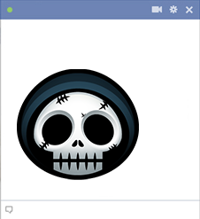 Grim Reaper Halloween Emoticon