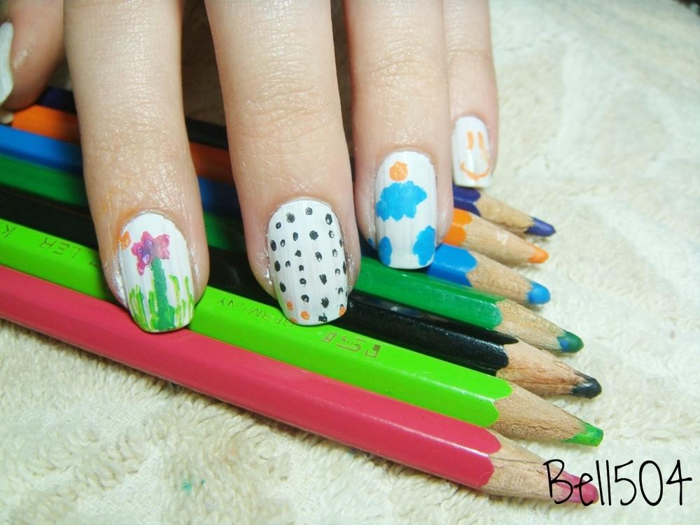 Decora tus uñas con lápices de colores! ♥ | Belchi ♥