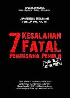 Jual 7 Kesalahan Fatal Pengusaha Pemula Surabaya