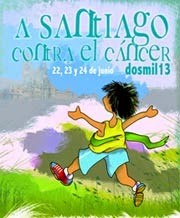 A Santiago contra el Cancer