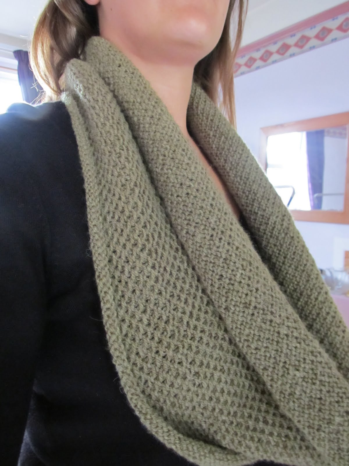 Knitting Cowl With Circular Needles : Bella bee and me cast adrift