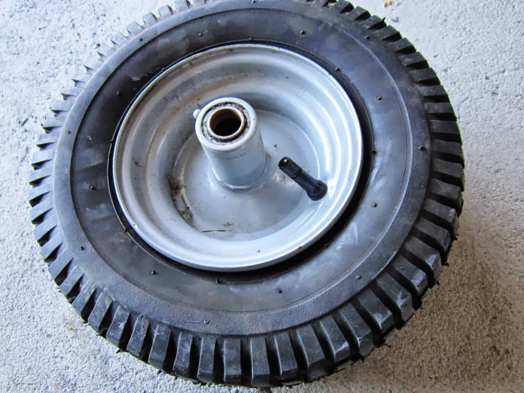 Feed Yourself During Hard Times: Replacing a Tire's Valve Stem