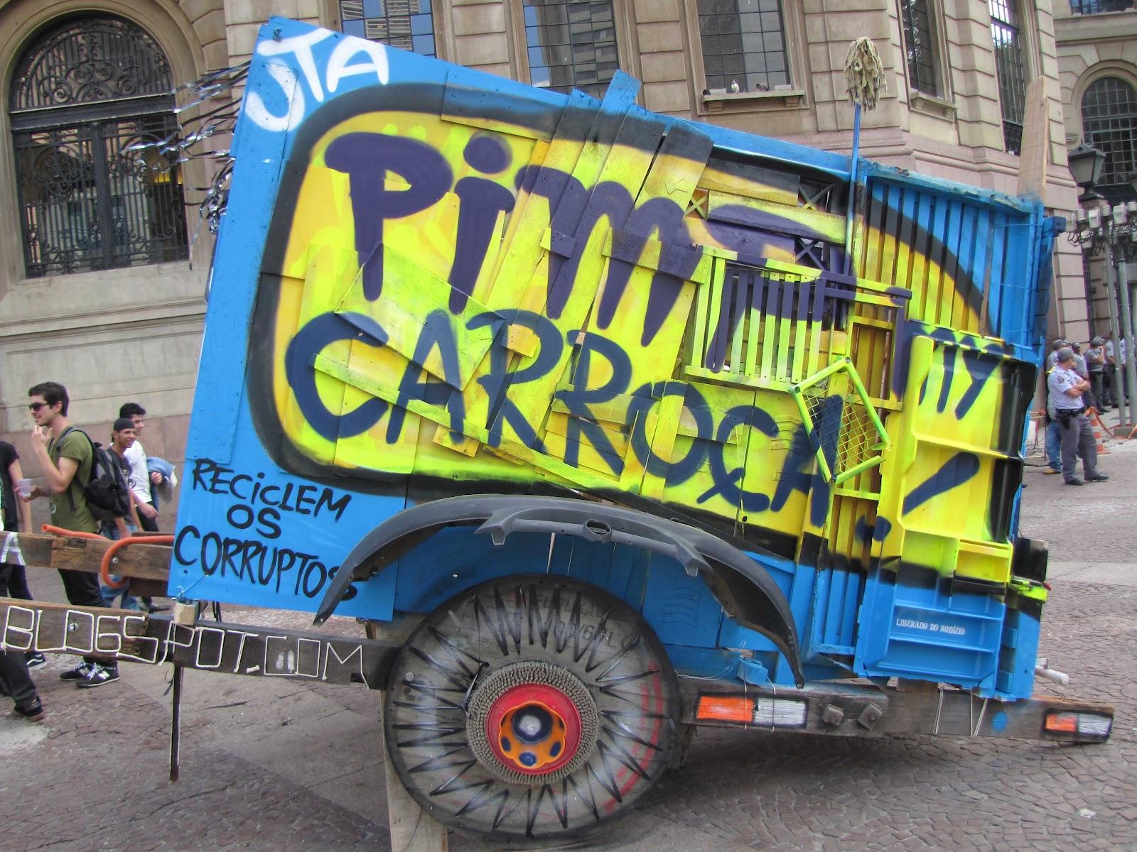 urban trash art porjeto 31 pimp my carro a virada cultural 2012. Black Bedroom Furniture Sets. Home Design Ideas