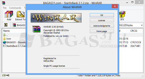 WinRAR 5.00 Final Full Keygen