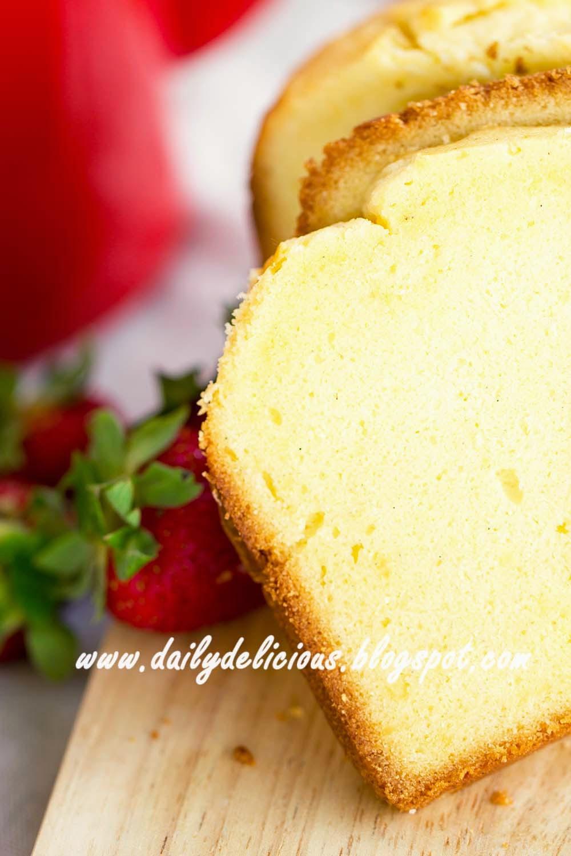 Bread Maker Pound Cake Recipe