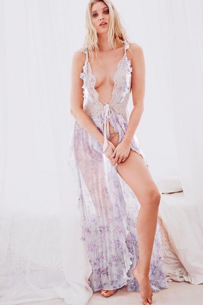 Elsa Hosk - Victoria's Secret May 2015 Lookbook