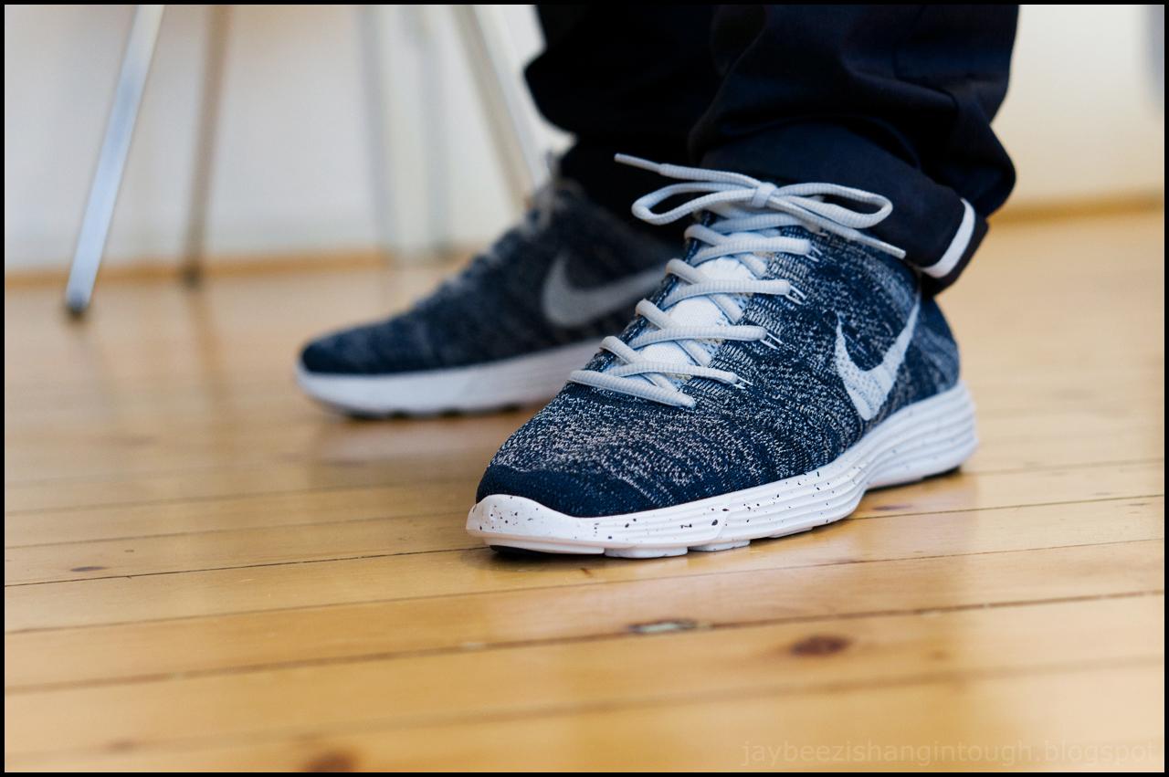 Nike Lunar Flyknit Chukka Squadron Blue