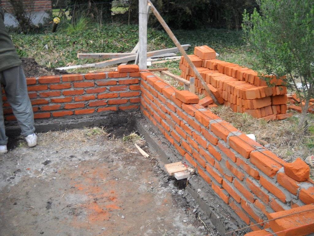 Alba iler a en casa procedimiento para hacer paredes de - Como revocar una pared de ladrillo hueco ...