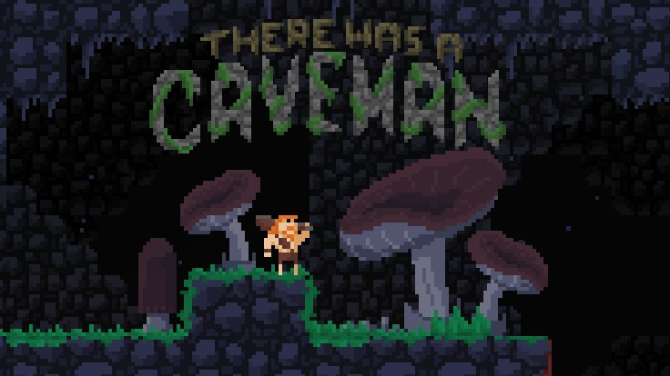 Caveman Pixel Art : Indie retro news there was a caveman prehistoric