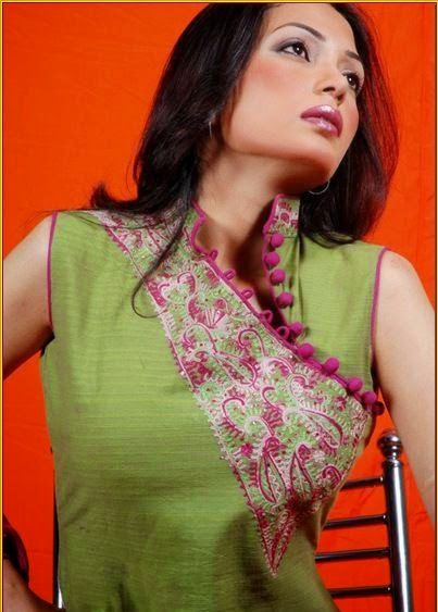 Stylish Fashion Base Women Neck Designs For Salwar Kameez Suits