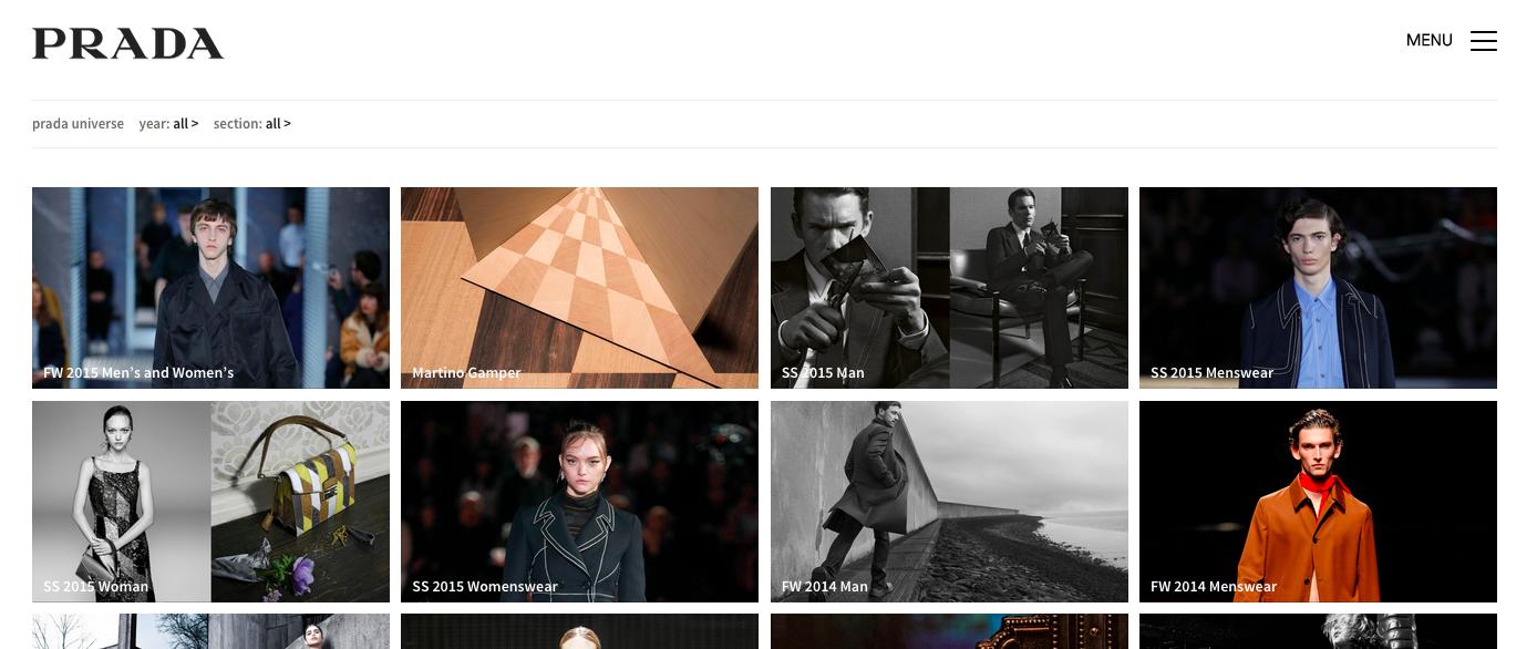 Archivi digitali: 28 anni di Prada
