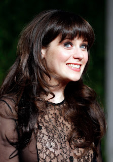 Zooey Deschanel at the Oscars