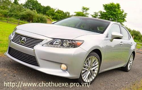 Cho thuê xe cưới hạng vip Lexus E350