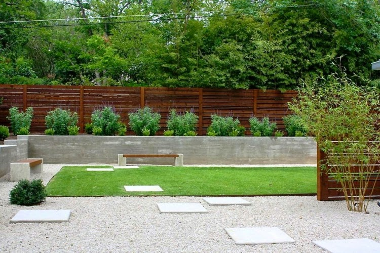 Modern garden design examples planters as accent houzz for Garden design examples