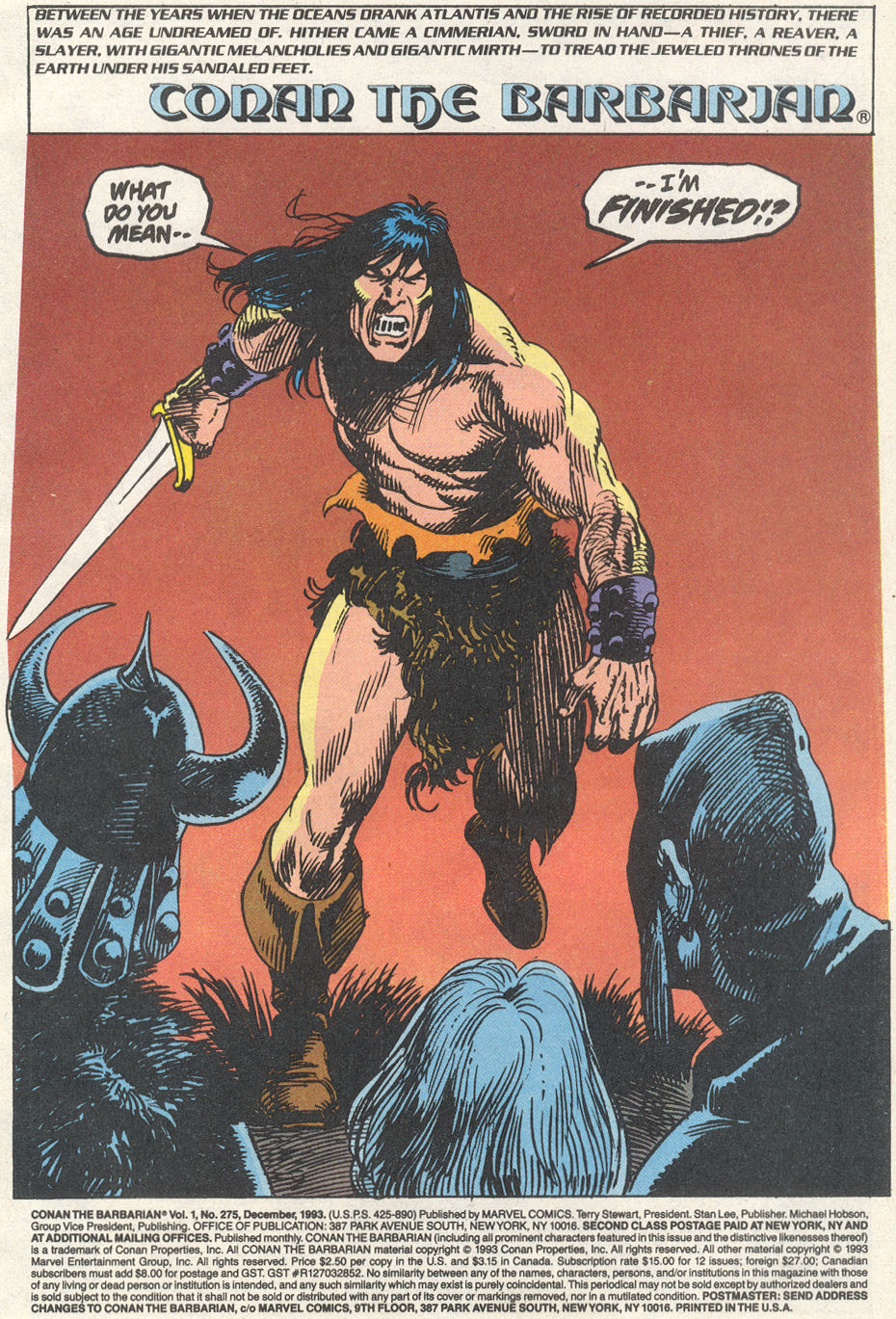 Conan the Barbarian (1970) Issue #275 #287 - English 2