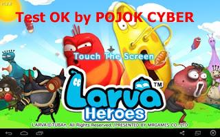 Tampilan Game Larva Heroes - Lavengers 2014