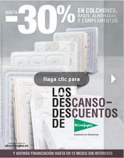 Ofertas el corte ingles catalogo de colchones febrero 2013 - Catalogo del corteingles ...
