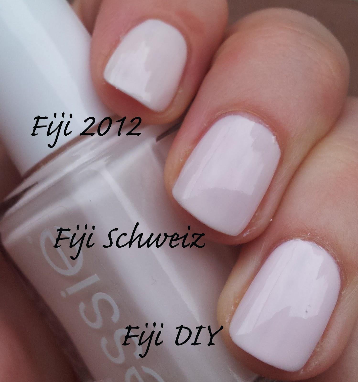essie Fiji 2012 DIY