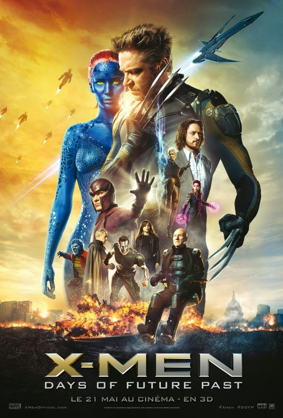 X-Men: Days of Future Past films streaming