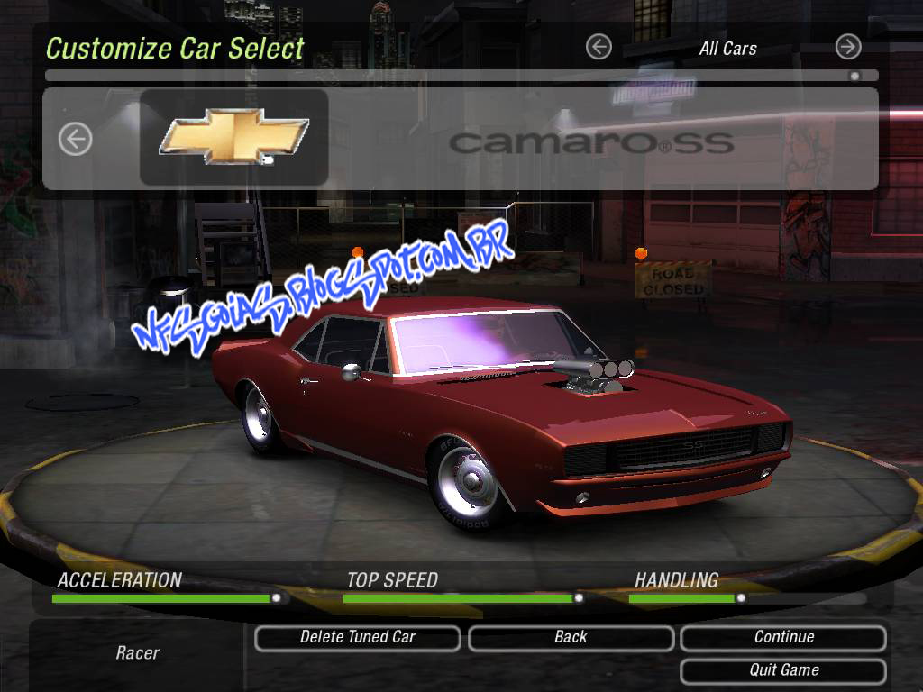 Nfs-Texed-0.9.1 Underground 2 Download
