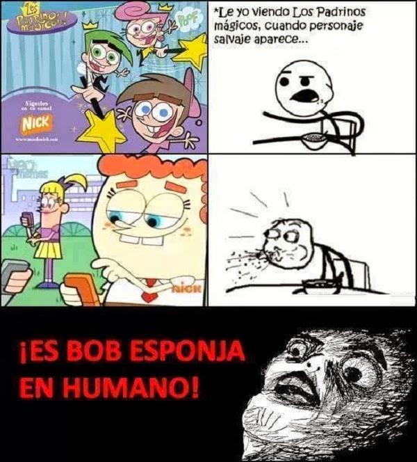 Bob esponja en humano