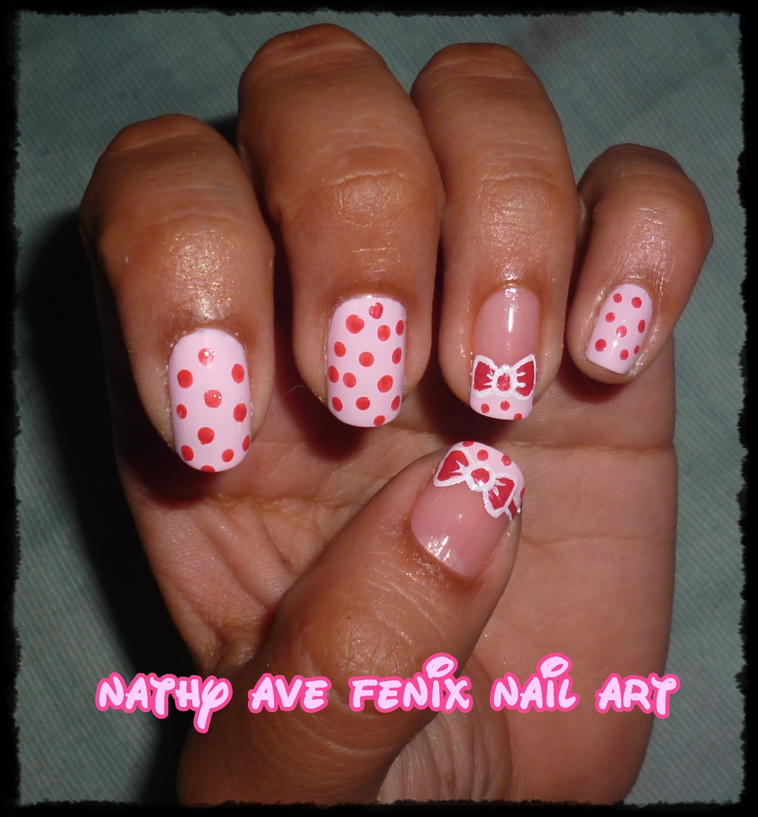 Nail Art Pik Avenue: NATHY AVE FENIX NAIL ART: DIA 14 DEL RETO: TONOS PASTEL