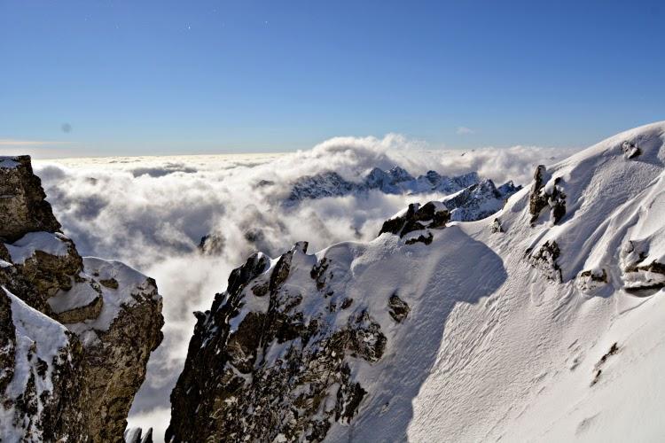 Lomnický štít in Slovakia High Tatry Mountains