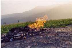 The Volcano of Sacco Mountain-Busca Mountain