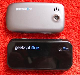 Geeksphone ZERO vs Geeksphone ONE