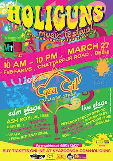 The Biggest Holi Music Festival in Delhi