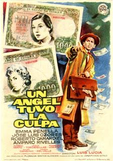 Cartel, poster:  Un ángel tuvo la culpa | 1960