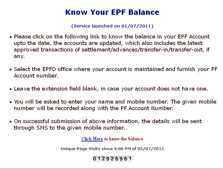 My Views On Life: How to Check your EPF (Employee Provident Fund ...