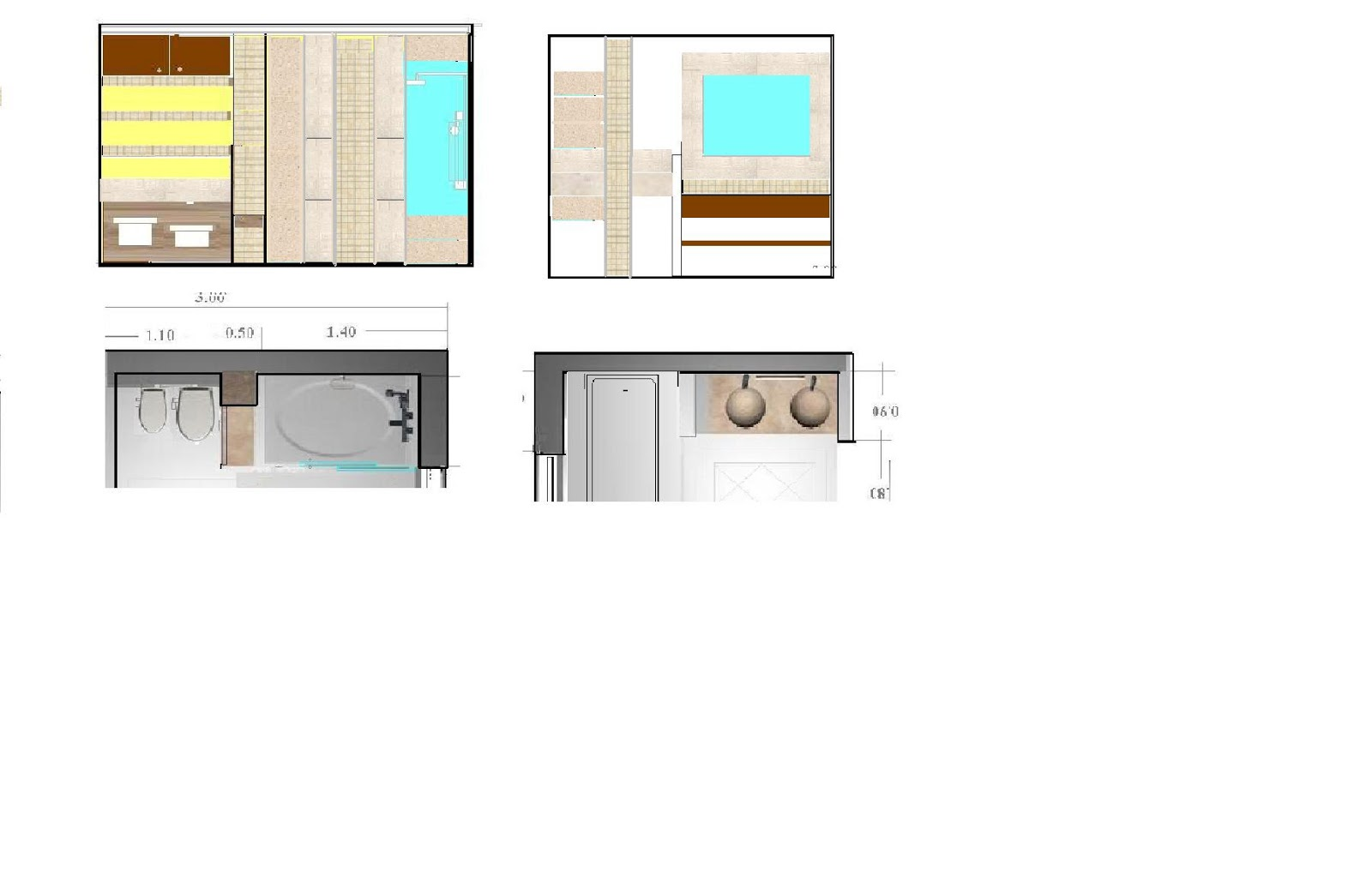 Interiorismo y decoracion lola torga dise o de un ba o - Diseno de un bano ...
