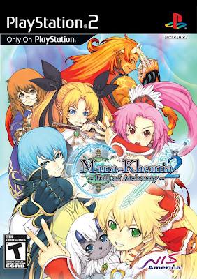 Mana Khemia 2: Fall of Alchemy PS2
