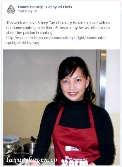 munch ministry homecook spotlight luxury haven