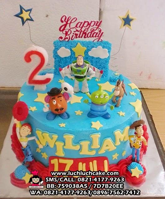 Kue Tart Ulang Tahun Toy Story Daerah Surabaya - Sidoarjo