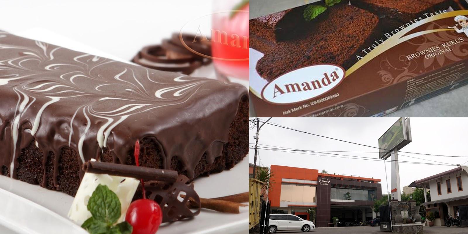Sejarah Amanda Brownies Bandung